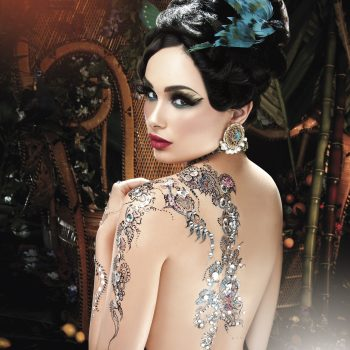 Back Henna Design