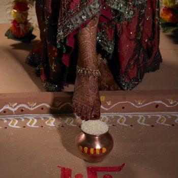Bridal Henna on Foot