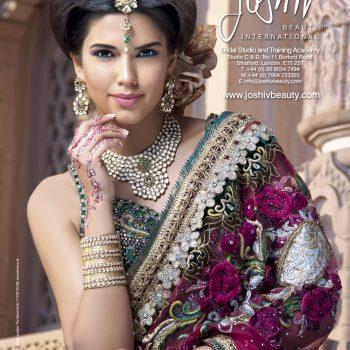 Colourful Bridal Look