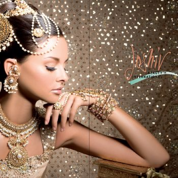 Gold Bridal Design
