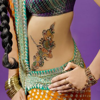 Henna on Stomach