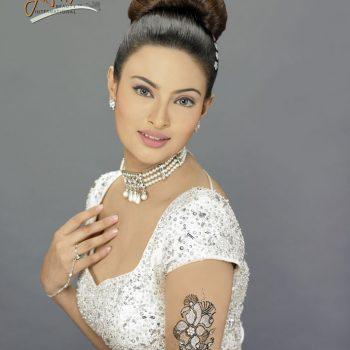 Diamante Bridal Henna