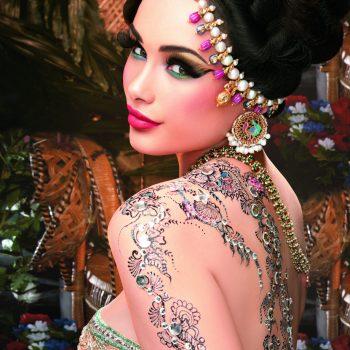 Diamante Henna